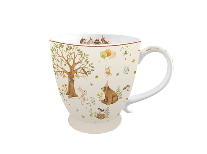 Isabelle Rose Kaffeetasse Forest Party 380ml